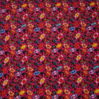 Katoen tricot prints